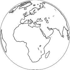 Small Picture Earth Globe Coloring Page WeColoringPage 067 African Awareness