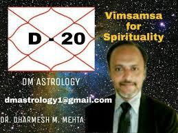 D 20 Vimsamsa For Spirituality By Dr Dharmesh M Mehta