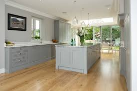 Kitchens With Gray Floors Light Grey Shaker Kitchens Google Search Kitchen Pinterest