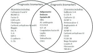 Venn Diagram Type 1 Type 2 Diabetes Venn Diagram Of Prognostic And Diagnostic Protein Predictors