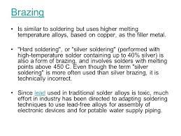 Solder Melting Temperature Chart Silver Solder Melting Temperature Silver Solder Techniques
