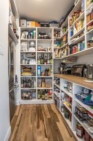 Garde-manger walk-in Not so picture perfect, but more realistic for our  butler's pantry