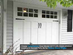 garage door clopayDoors Done Right  Garage Doors and Openers  Clopay Coachman