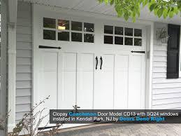 clopay coachman garage door installation in kendall park nj 08824