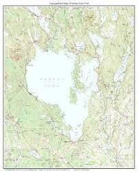 sebago lake map  my blog