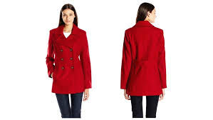 womens long peacoat coat coats winter for women tall wool