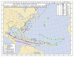 Atlantic Weather Charts Subjective North Atlantic Tropical Cyclogenesis Climatology