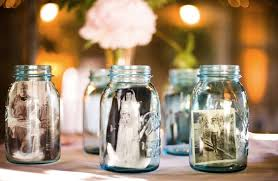 What To Put In Jars For Decorations Simple Ways To Decorate With BlueTinted Mason Jars 1