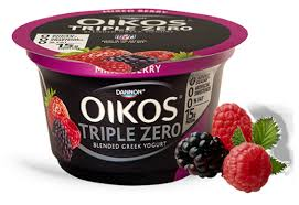 dannon oikos triple zero greek nonfat yogurt