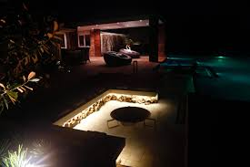 outdoor pool lighting. Harkaway, Melbourne. Outdoor Feature Lighting Pool O