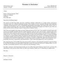 How To Write A Good Cover Letter For A Resume Marketing Manager Cover Letter 89