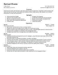 Fast Food Worker Resume Fast Food Resume Examples Fast Food Cashier Resume Fast Food Resume 27