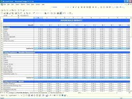 Excel Spreadsheet Examples Download Excel Spreadsheet For Monthly Expenses Templates Free