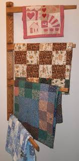 Large Multiple Quilt Swing Arm Wall Quilt Hanger. After coming out ... & Large Multiple Quilt Swing Arm Wall Quilt Hanger. After coming out with our wrought  iron Adamdwight.com