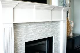 glass tile fireplace surround brilliant photos with regard to on for modern designs