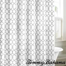 tommy bahama stown trellis gray cotton shower curtain ping great deals on tommy bahama shower curtains