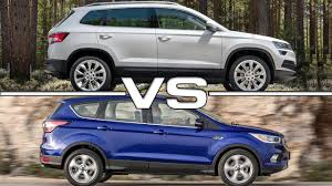 2018 ford escape. exellent escape 2018 skoda karoq vs 2017 ford escape for ford escape