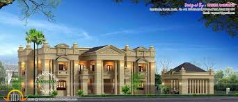 table colonial luxury house plans graceful colonial luxury house plans 1 elegant 3 in kerala