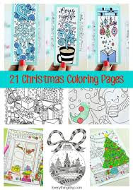 Top 25 free printable horse coloring pages. 21 Christmas Printable Coloring Pages Everythingetsy Com