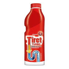 Гель <b>TIRET</b> TURBO <b>для удаления</b> засоров в канализационных ...
