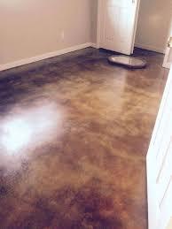 acid stained concrete floor. Unique Floor Coffee Brown Acid Stained Floors And Concrete Floor U