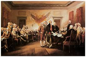 declaration of independence signing painting declaration of signing of declaration of independence painting