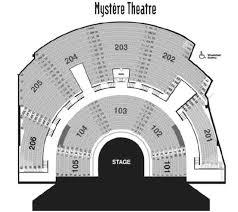 48 All Inclusive Treasure Island Mystere Theatre Seating Chart