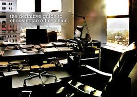 office chair guide. Definitive-guide-to-choosing-an-officechair Office Chair Guide V