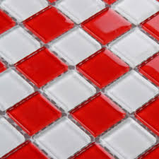 red glass backsplash tile kitchen mosaic designs 3031 white crystal glass bathroom wall tiles liner floor