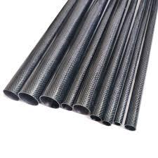 Online Shop 4PCS Twill Matte 3K Carbon fiber circular tube Length ...