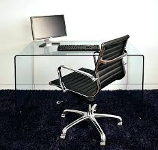 clear office desk. Glass Office Desks Small Arch Clear Desk Sydney