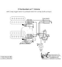 15 best guitar wiring diagrams images on pinterest guitar 2 Humbucker 1 Volume Wiring guitar wiring diagram with 2 humbuckers, toggle switch & 1 volume control push pull for single coil mode wiring diagram 2 humbucker 2 volume 1 tone