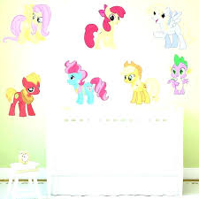 my little pony wall decals my little pony wall decals with my little pony wall decor