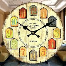 wooden kitchen wall clocks clockwall clockroundwoodenadvertisingmilkkitchen clock large wooden kitchen wall clocks