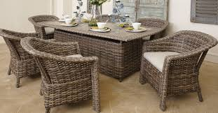 Lane Venture St Simons Collection Resin Wicker Dining Tables and