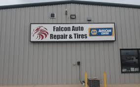 Falcon CO - Custom Illuminated Sign Falcon Auto Repair and Tire