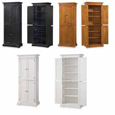 Pantry Storage Cabnet Ktchen Cupboard Wood Organzer Raymour And