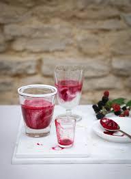 kefir drink. kefir \u0026 blackberry smoothie drink
