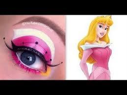 princess aurora sleeping beauty makeup tutorial