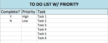 to do lists templates free to do list templates in excel