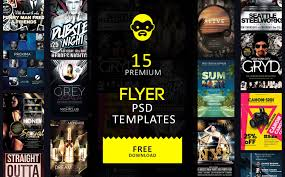 Free Flyer Layout 15 Premium Flyer Psd Templates Free Download Psddaddy Com
