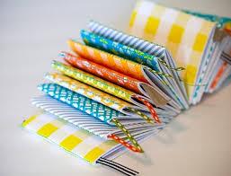mini handmade books for favors