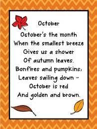 Seasonal Poetry - September, October, November!   Kids poems, Kindergarten  poems, Poetry for kids