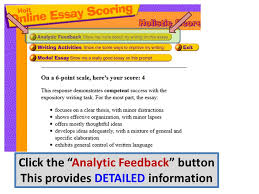 "log in to my hrw com click on ""holt online essay scoring"" ppt  11 click"
