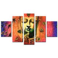 <b>Buddha Wall</b> Art Modern Painting UK