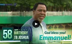 Tb joshua ministries said on sunday the nigerian evangelist has died at the age of 57, a week before his birthday. K27x4uyw4 Dgxm