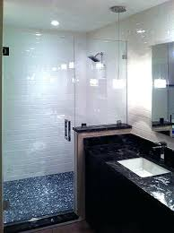 half wall shower glass half wall glass shower partition pony awe inspiring enclosures and doors gallery half wall shower glass