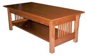 amish prairie mission rectangular coffee table with idea 6