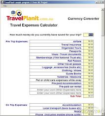 vacation expense calculator calculating travel expenses by car myvacationplan org