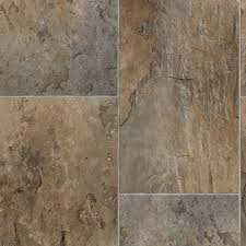 rectangular offset slate brown grey 13 2 ft wide x your choice length residential vinyl sheet flooring